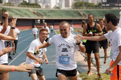 Sao Paulo, Brasil - December 05 of 2015: Nike Vem Junto - Corrida do Ruivo. Photo: CAIO GUATELLI